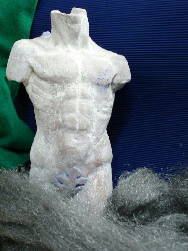Terracotta body.