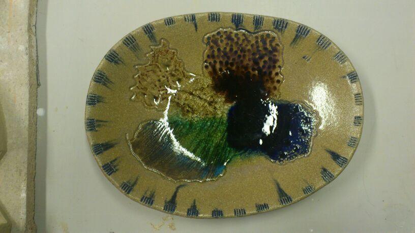 Terracotta colored pigments